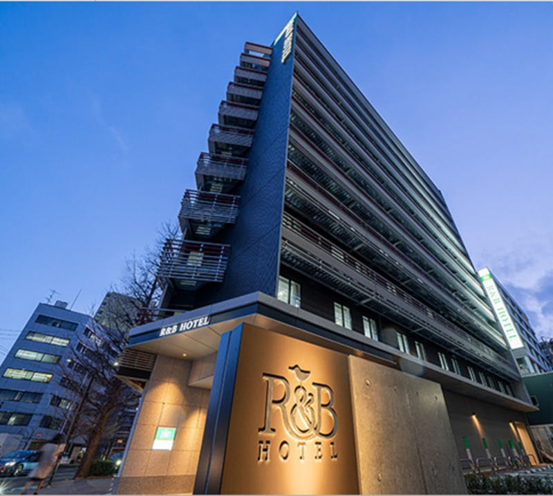 R&Bホテル仙台東口 外観